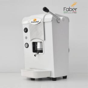 Macchina caffè filtro carta 44mm faber fabila bianco