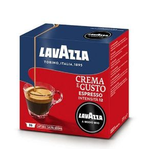 Immagine di 36 Capsule Caffe' Lavazza A Modo Mio Crema E Gusto