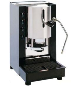 Macchina caffé cialde filtro carta 44mm spinel pinocchio con vapore nero