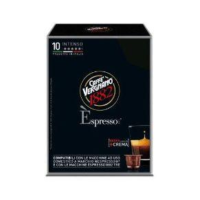 Immagine di 10 Capsule Compatibili Nespresso Caffe' Vergnano Èspresso Intenso