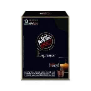 Immagine di 10 Capsule Compatibili Nespresso Caffe' Vergnano Èspresso Arabica