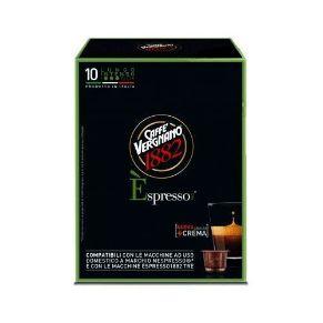 Immagine di 10 Capsule Compatibili Nespresso Caffe' Vergnano Èspresso Lungo Intenso