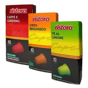 Kit Personalizzabile Bevande Ristora Compatibili Nespresso