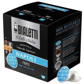 Capsule Bialetti Napoli, caffè cremoso dal gusto intenso. Confezione Multipack Convenienza