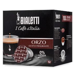 Capsule Bialetti Orzo senza Caffeina