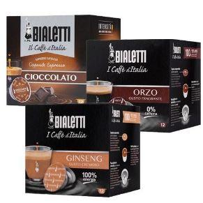 Immagine di Kit Personalizzato 96 Capsule Bialetti Caffè D'Italia Aromatizzati E Bevande