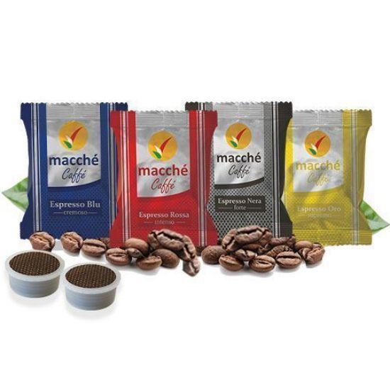 Immagine di Kit Personalizzato 300 Capsule Compatibili Espresso Point Macché Caffè Espresso Selection