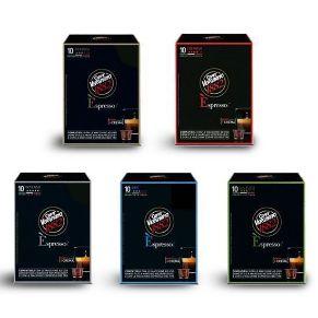 Immagine di Kit Personalizzato 120 Capsule Caffè Vergnano Compatibili Nespresso