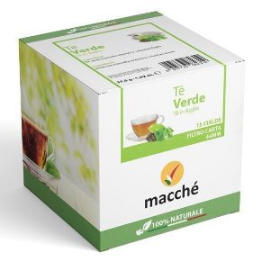 Cialde The Verde Macché Filtro Carta 44mm