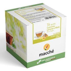 Tisana Curcuma E Limone Con Miele cialde 44mm Macché