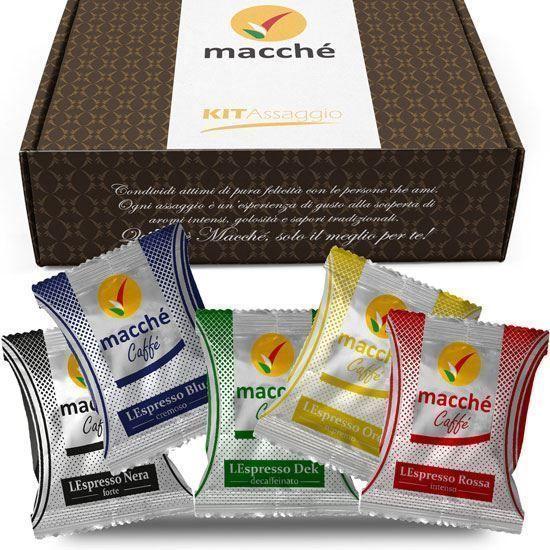 Immagine di Kit Di Benvenuto 20 Capsule Macché Caffe' Compatibili Nespresso