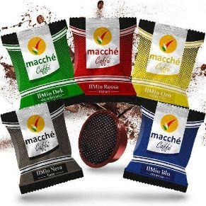 Immagine di Kit Personalizzato 300 Capsule Compatibili A Modo Mio Macché Caffè