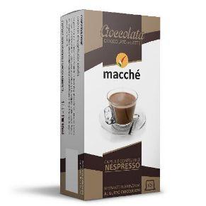 10 capsule Macché Cioccolata Compatibili Nespresso