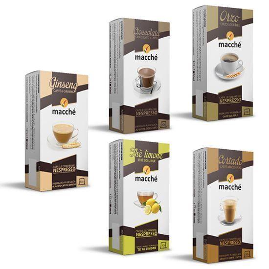 Kit Personalizzabile di Bevande Compatibili con Macchine Nespresso