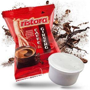 Immagine di 25 Capsule Compatibili Espresso Point Ristora Caffe' & Ginseng