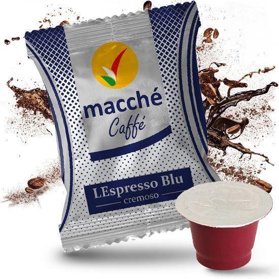 50 Capsule Nespresso Macché Caffè BLU CREMOSO