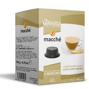 16 capsule Macché Ginseng Compatibili Lavazza A Modo Mio
