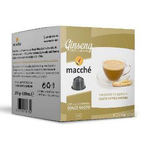 16 capsule Macché Caffè e Ginseng Compatibili Nescafé Dolce Gusto