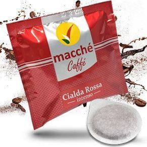 Cialde 44mm Macché Caffè Miscela Rossa Intenso