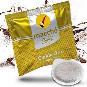 Cialde 44mm Macché Caffè Miscela Oro Supremo