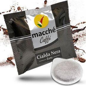 Cialde 44mm Macché Caffè Miscela Nera Forte