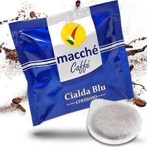 Cialde 44mm Macché Caffè Miscela Blu Cremoso