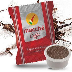 Capsule Compatibili Espresso Point Macché Caffè Miscela Rossa Gusto Intenso