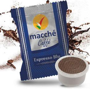 Capsule Compatibili Espresso Point Macché Caffè Miscela Blu Gusto Cremoso