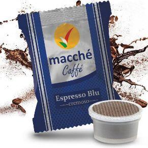 50 capsule compatibili Uno System Macché Caffè Gusto Cremoso Miscela Blu