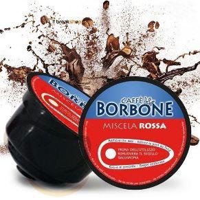 Capsule Compatibili Dolce Gusto Caffe' Borbone Miscela Rossa