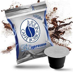 50 Capsule Compatibili Nespresso Caffe' Borbone Miscela Blu Respresso