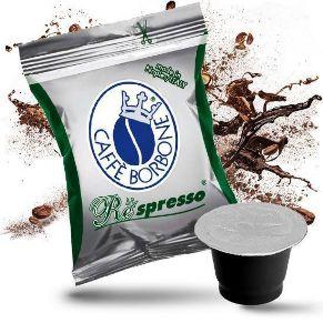 50 Capsule Compatibili Nespresso Caffe' Borbone Miscela Decaffeinato Respresso
