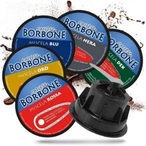 Kit Personalizzato Caffè in Capsule Borbone Compatibili Dolce Gusto