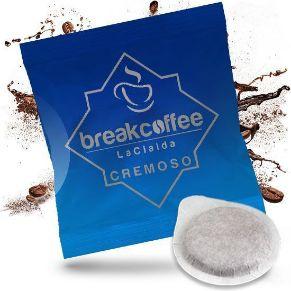 100 Cialde Caffe 44mm Break Coffee Cremoso