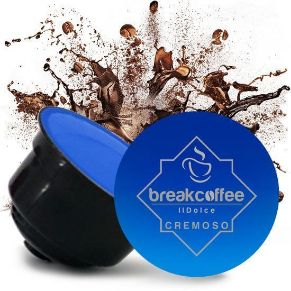 Capsule Dolce Gusto Compatibili Break Coffee Cremoso