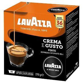Capsule Lavazza A Modo Mio Caffè Crema E Gusto Forte