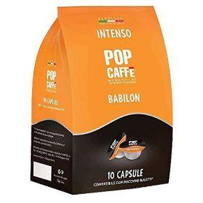 96 Capsule Bialetti Pop Caffè INTENSO