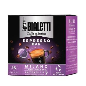 16 Capsule Bialetti Il Caffè D'Italia MILANO
